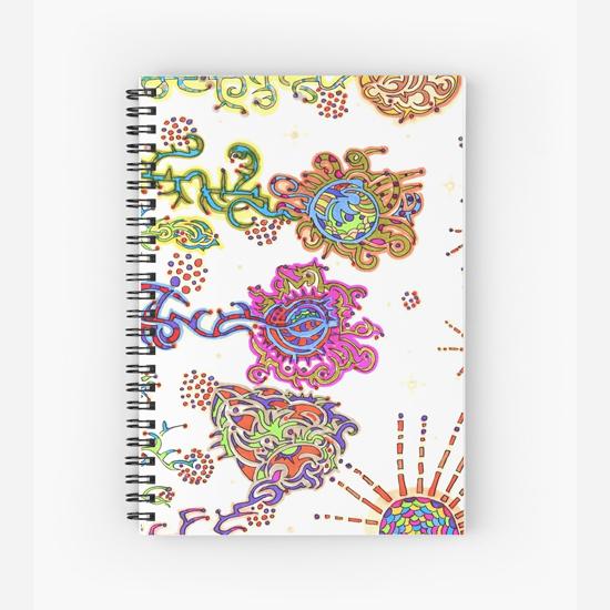 kurimi spiral notebook