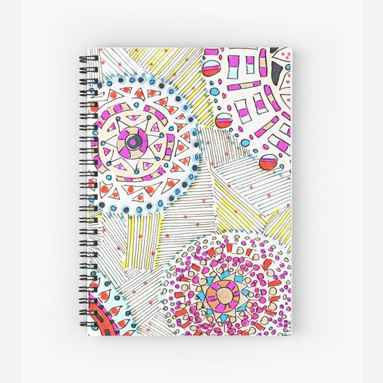 mai tai spiral notebook