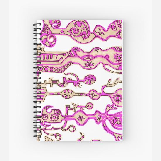 momo spiral notebook