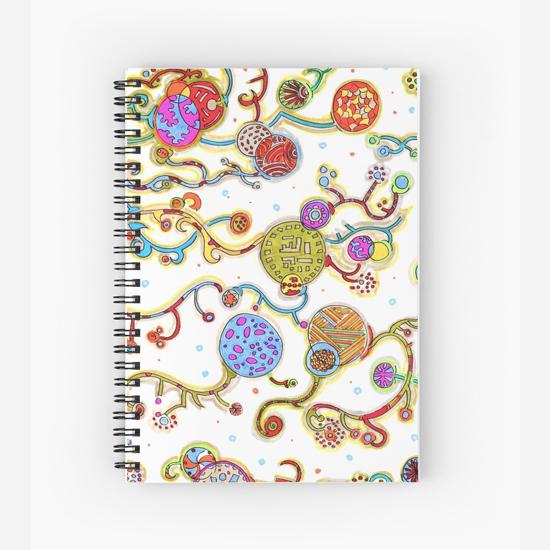 murasakino spiral notebook