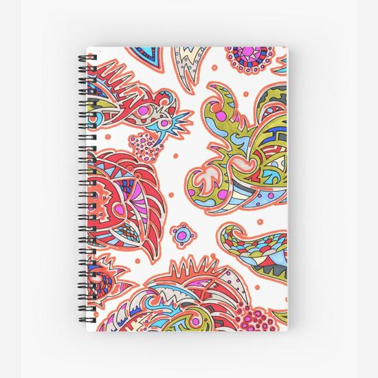 orengi spiral notebook