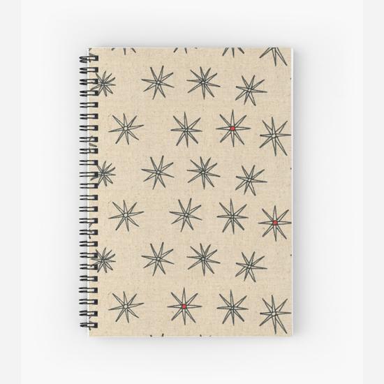 red dot spiral notebook