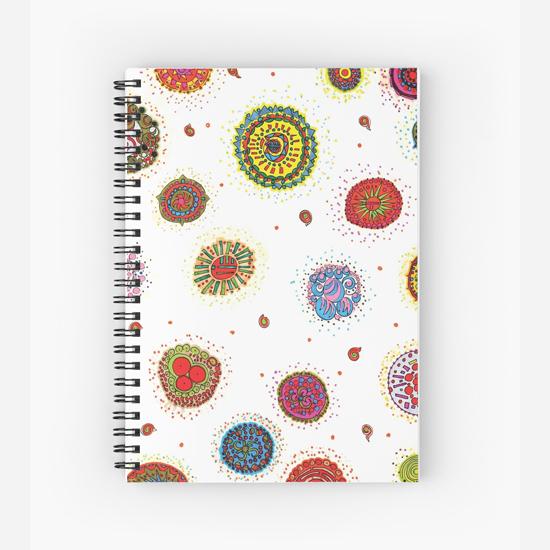 seventh star spiral notebook