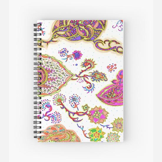 sukaretto spiral notebook