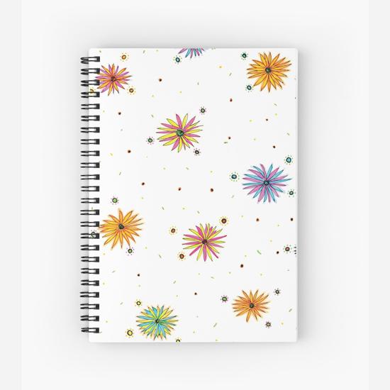 sydney summer spiral notebook