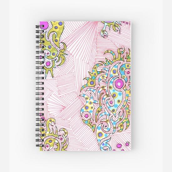 turkish delight spiral notebook