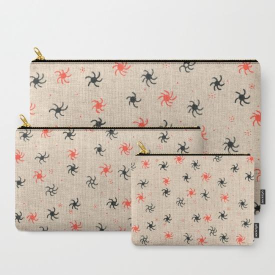 pinwheel studio pouch