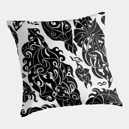 in sweden throw pillow