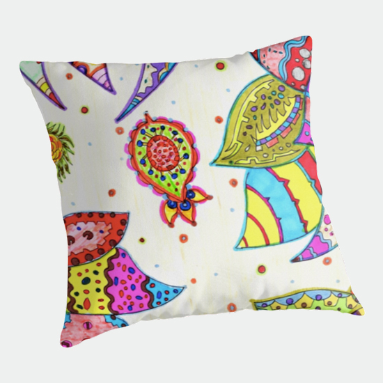 pinku throw pillow