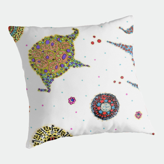 rozu throw pillow