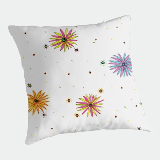 sydney summer throw pillow