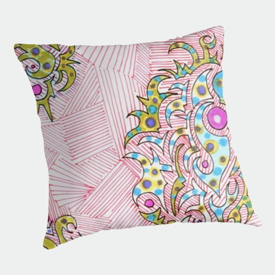 turkish delight throw pillow