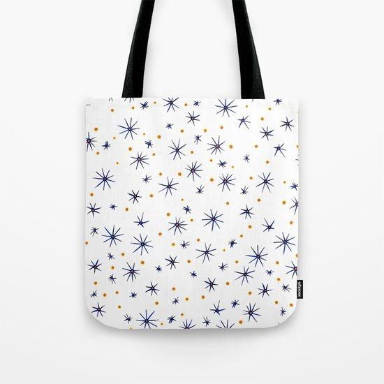 blue mattisse tote bag