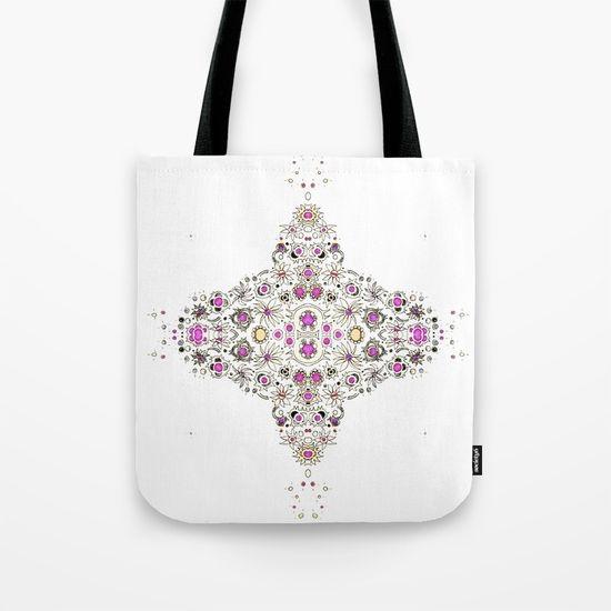 coastal pink tote bag