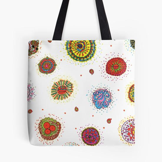 seventh star tote bag