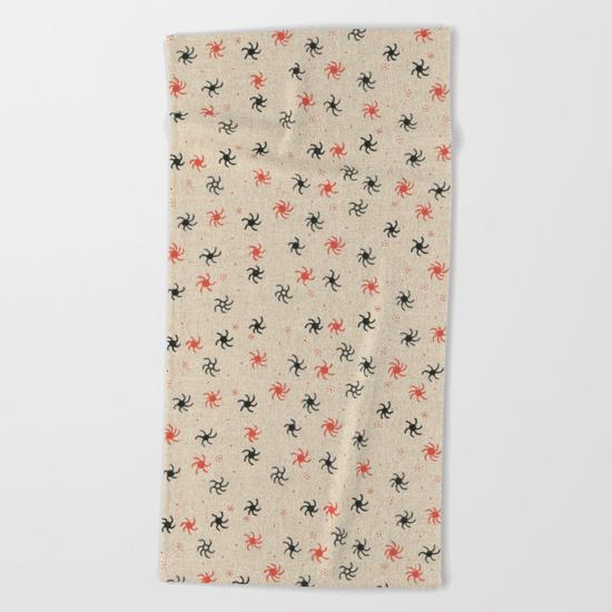 pinwheel towel