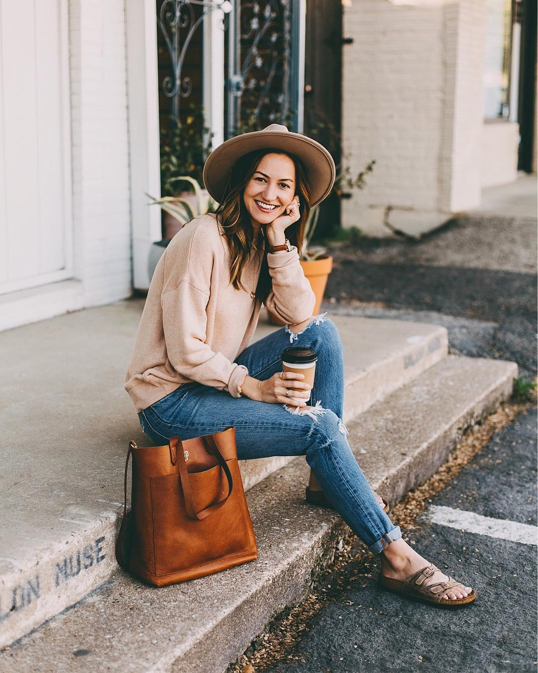 Olivia Watson   @livvylandblog is an Austin-based influencer with a casual, colorful, down-to-earth style.