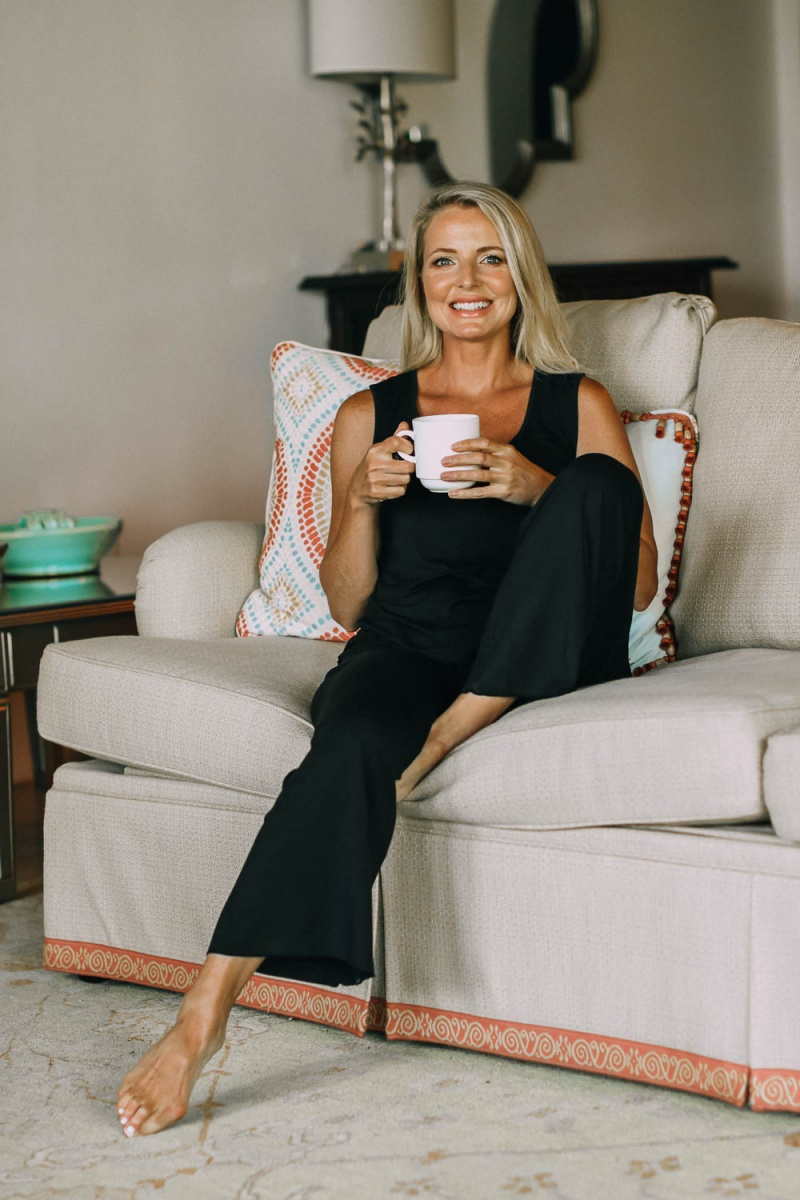 """Erin Busbee    @busbeestyle strives to make style and shopping easier for busy women over 40. Her content includes outfit posts with styling ideas and videos of her trying them on. She has collaborated with Fohr on NYX Professional Makeup, Living Proof, and Strivectin.  In her words: """"I want you to feel empowered to step out your door with a little extra confidence, knowing that no matter what life throws your way, you can look like you have your act together even if you don't."""""""