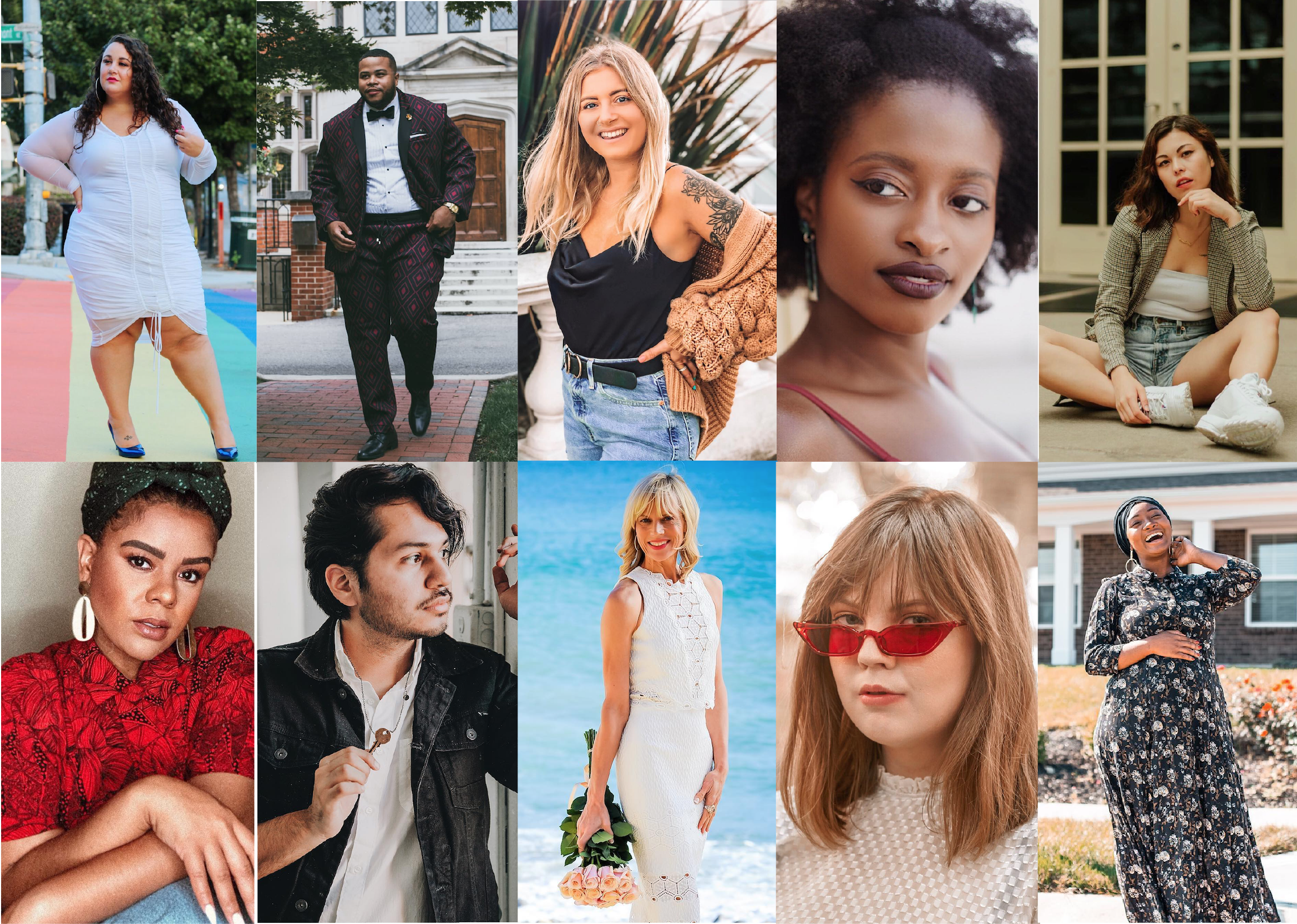 Fohr Freshman Class launched in early October to help us highlight some of the industry's most exceptional (yet underrated) content creators. We've since selected  10 influencers  out of countless worthy applicants. These individuals represent the underrepresented: from Chandler, Arizona, to Brighton, United Kingdom—they emanate positivity for bodies and for age, offer insight on intersectional feminism, motherhood, and menswear, and all-around create amazing content from their unique and inimitable perspectives.