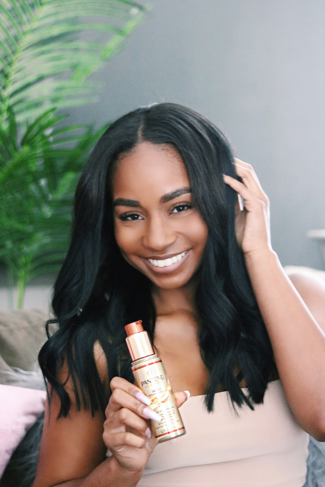 JaLisa E. Vaughn    @jalisaevaughn  for Pantene Gold