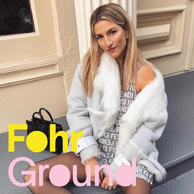 """""""I've weirdly gotten a new obsession with Tumblr and that's where I find all of my inspiration. I really try hard not to look at Instagram because, even if you aren't copying people, subconsciously you're intaking so much content. You are gonna subconsciously do what everyone else is doing."""" ⠀⠀⠀⠀⠀⠀⠀⠀⠀ In #FohrGround episode nine, @thjeffreys chats with @cassdimicco, a fashion and lifestyle influencer based in New York City. After starting out as a buyer at Lord & Taylor, she used that keen eye for style to turn blogging into a full-time career, a move that's two years in the making. She and Tim discuss that transition, how Tumblr is her unlikely source for inspiration, how she forecasts fashion trends, and what she thinks follower counts mean today. ⠀⠀⠀⠀⠀⠀⠀⠀⠀ If you already follow Cass, you've only seen one side of her. Link in bio to discover a whole other one! We're available wherever you get your podcasts."""