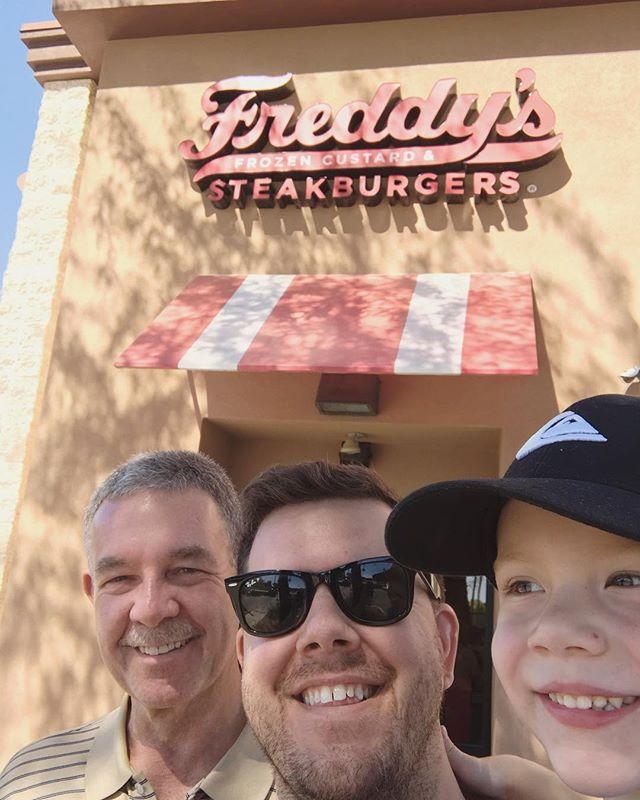Three Freddies walk into a Freddy's.  The start of a really bad joke.