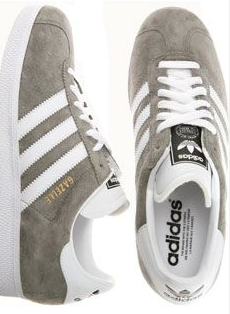 The supercool addidas gazelle.