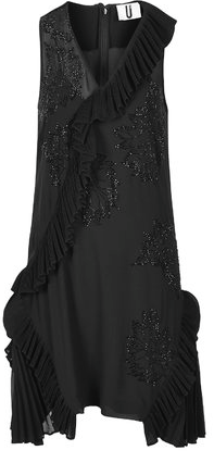 Topshop Pleated Godet Jewel Dress by Unique £295