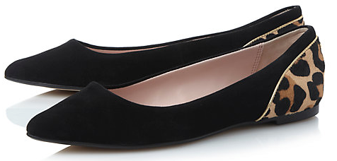 Dune Hymm Pointed Pumps  £59