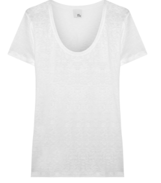 Mimi slub linen-jersey T by Iris and Ink at The Outnet £30