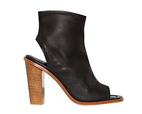 Whistles Peep Toe Shoe Boots £136 (sale)