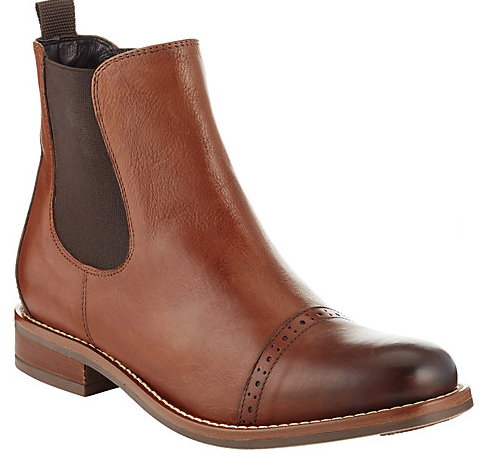 Pippa Leather Chelsea Boots £95