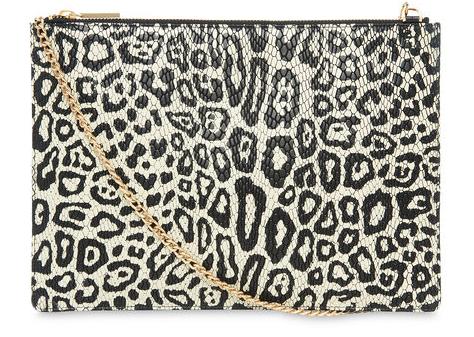 Leopard Snake Rivington Clutch now £68