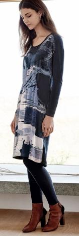 Poetry Silk Printed Dress £129