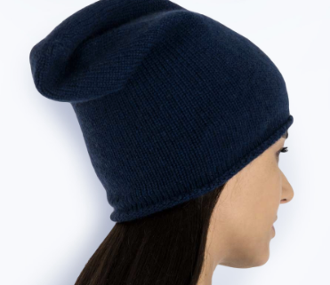 Maison Cashmere Slouch Beanie £39 available in black, navy, grey, khaki, taupe and cocoa