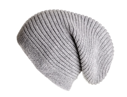 Black.co.uk Slouch Beanie £55.20 available in grey or navy