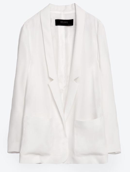 Zara Long Flowing Blazer £39.99
