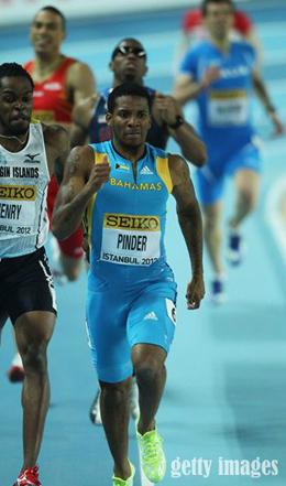 2012 Olympic Gold Medal 400M Runner Demetrius Pinder