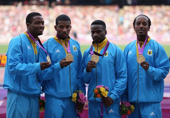 Bahamas Men 2012 Olympics gold medal photo