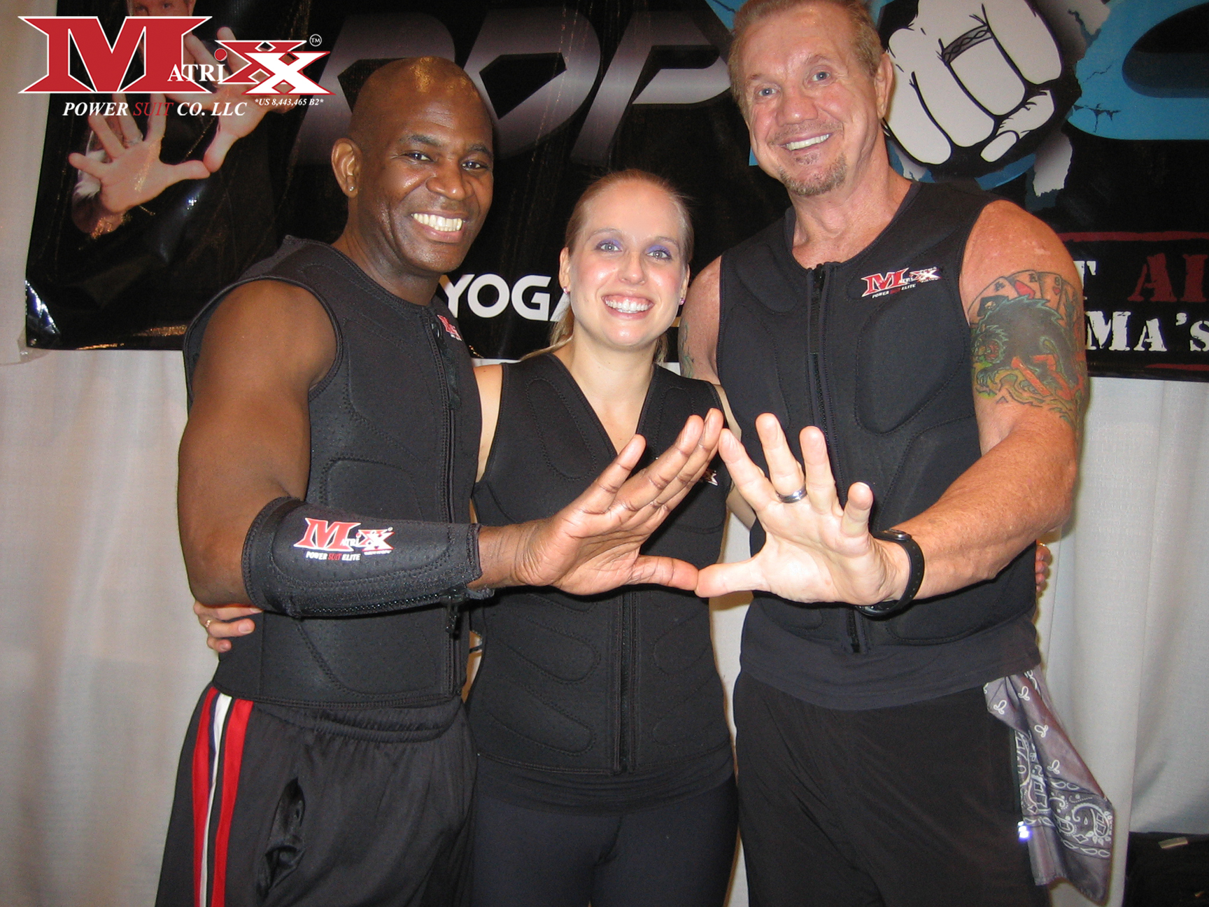 "Calvin & Holly w ""Diamond Dallas Paige"" @ Pix 11 Health & Wellness Expo 2012"