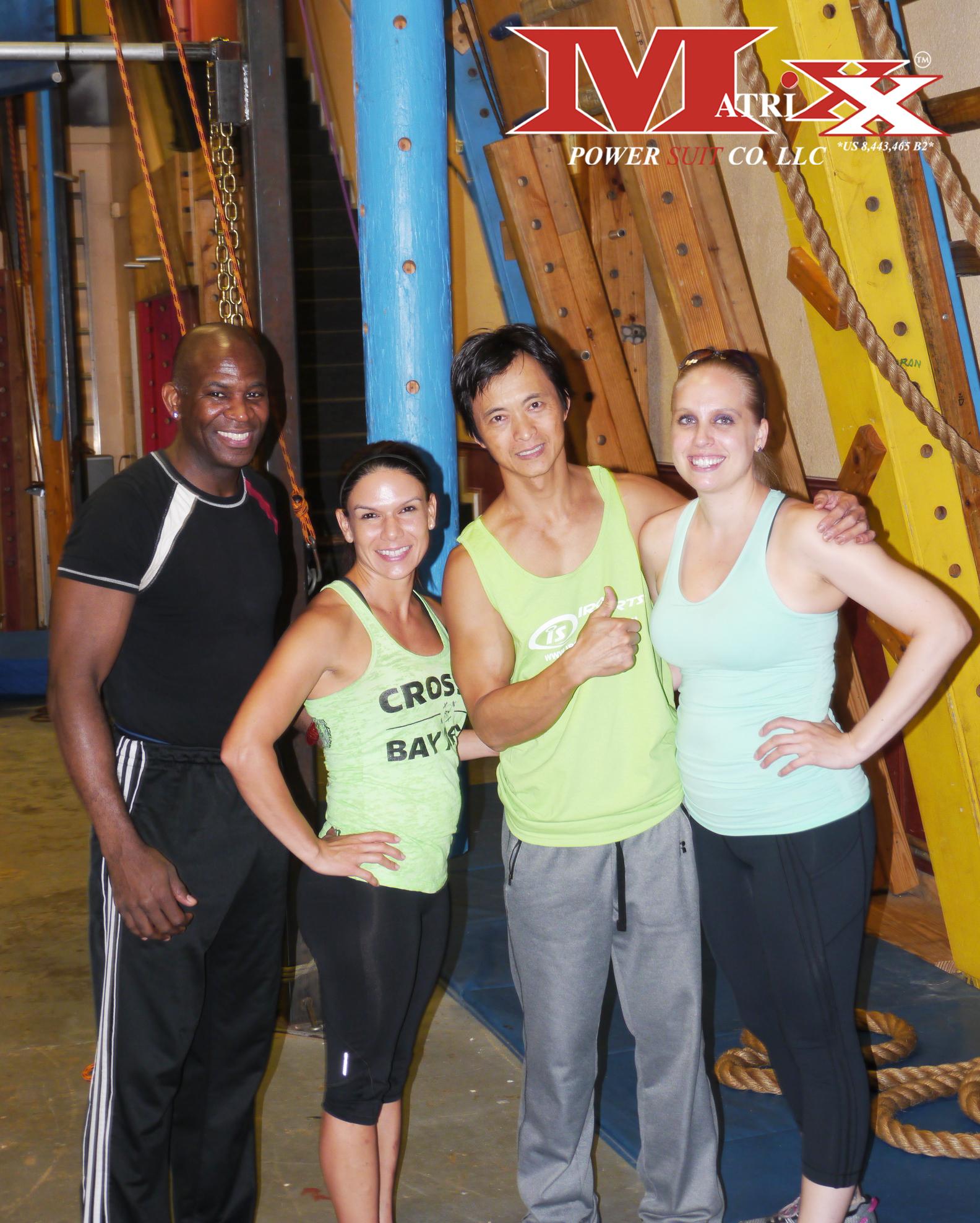 Calvin & Holly w American Ninja Warrior, Sam Sann @ Iron Sports Gym 6-2014
