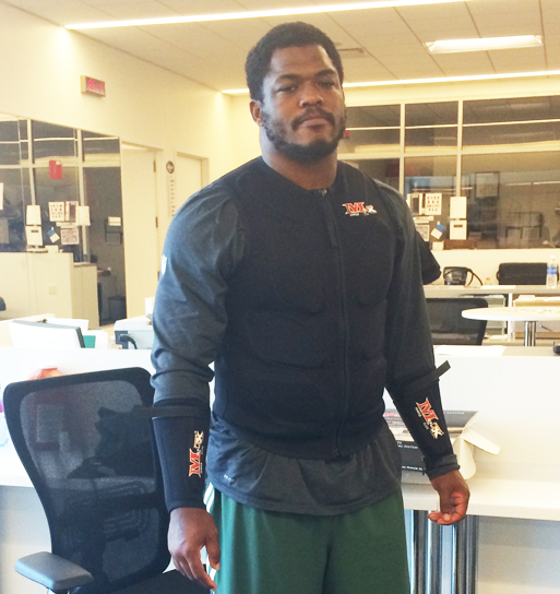 NY Jets Player, Antwan Barnes
