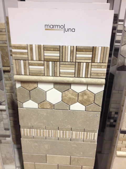 Beautiful! Be on the look out for more hex tiles this year. Very popular.