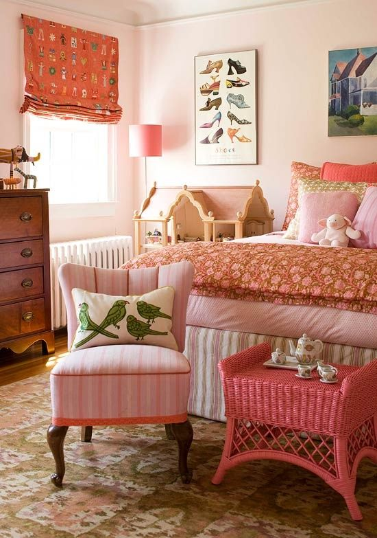 Queen Anne Pink is one of Ben Moore's Historic Colors. Imagine this in a hallway! Ceililng, too!