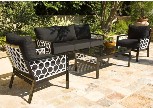 You can even bring the classic look to the patio.