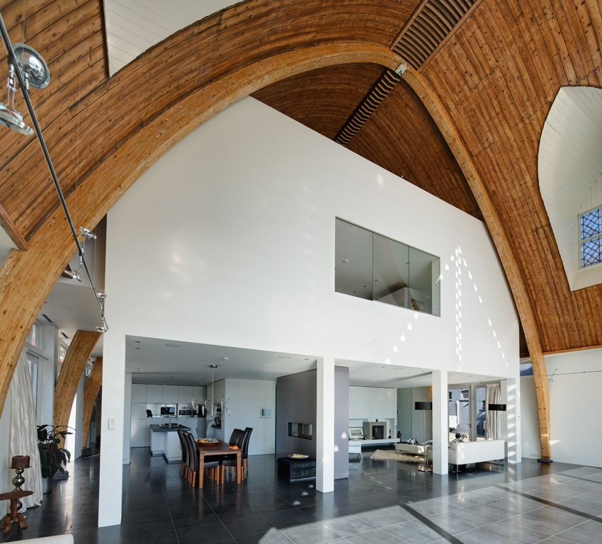 This might be too much drywall for me. Love the ceiling!