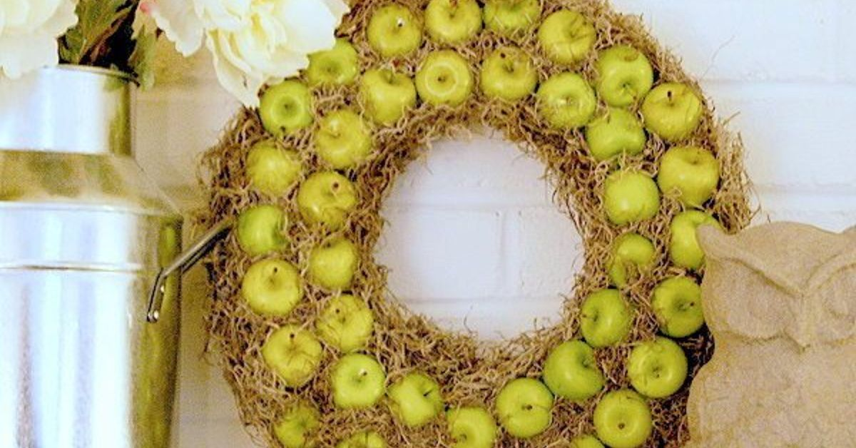 This wreath could hang up through the fall. A DIY project I saw on line and was inspired!