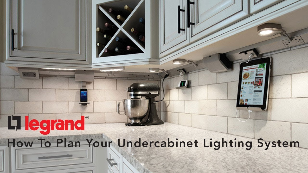 Thinking of adding under cabinet lighting? Legrand has many options that can include docking and charging stations.