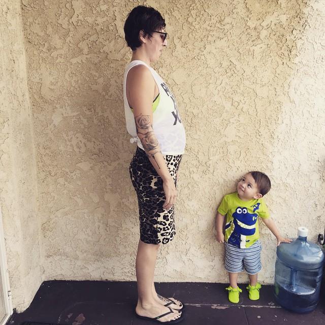 Skirt: ASOS Maternity Top: F21