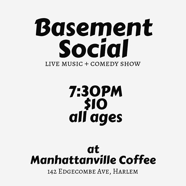 Show is tomorrow! Ready to laugh AND sing?!? Will we see you there?